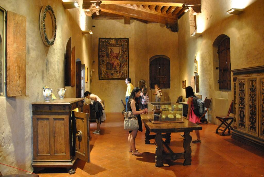 Visited the Palazzo Davanzati.