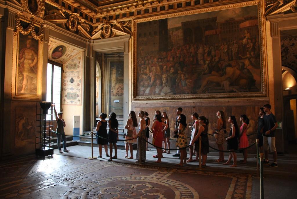 Palazzo Vecchio's Salone dei Cinquecentro